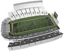 Toledo Rockets Glass Bowl Seating Chart 73 Memorable University Of Toledo Stadium Seating Chart