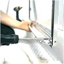 shower door seal sweep cozy replace shower door seal sweep home depot glass doors a replacement