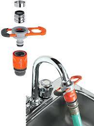 garden hose faucet adapter faucet adapter for indoor taps kitchen faucet garden hose adapter home depot
