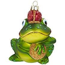 Suchergebnis Auf Amazonde Für Baumschmuck Froschkönig