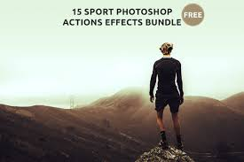 photoshop effects free 15 free sport photoshop actions effects bundle creativetacos