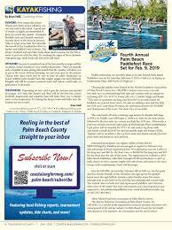 Palm Beach County Tide Chart Coastal Angler Magazine January 2019 Palm Beach By