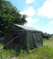 Modular Tent System 11x11 Army Surplus Command Post Tent