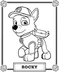 Paw Patrol Printable Coloring Pages Homelandsecuritynews