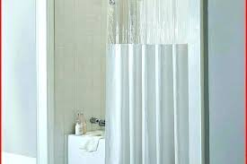 full size of hookless shower curtain liner extra long custom size stall target clear with magnets