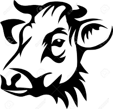 beef cow head silhouette. Simple Silhouette Visit And Beef Cow Head Silhouette E