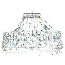 extra large blown glass chandelier by parts