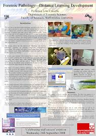 Forensic Pathology Distance Learning Development As Part Of