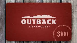 win 100 outback steakhouse gift card sweepstakes panda daily new sweepstakes giveaways and freebies