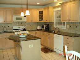 Beauteous Light Wood Cabinets Kitchen Wall Color As Wells As Kitchen