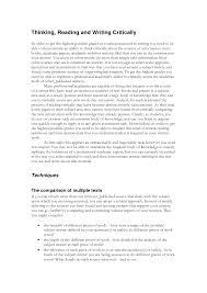 critical essay examples co critical essay examples