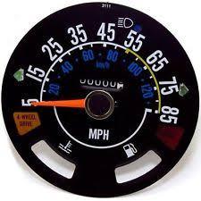 jeep cj5 gauges omix speedometer new jeep cj7 cj5 scrambler 1981 1985 17207 03 fits jeep cj5