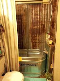 water trough bathtub rustic bath made from a trough water trough bathtub for