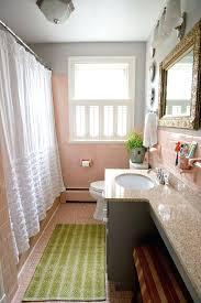 bathroom countertop tile ideas. Ideas For Bathroom Countertops Decor Counter Eclectic With Pink Tile White Shower Curtain Countertop U