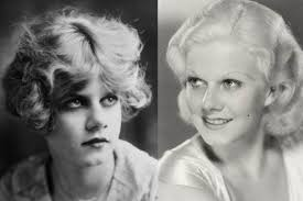 jean harlow before and after her hollywood makeover