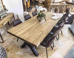 Holztisch Massiv Rustikal Awesome Amazing Sam Esstisch