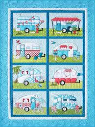 19 best Quilts Camping images on Pinterest | Babies, Centerpieces ... & Campers Quilt Pattern Adamdwight.com