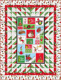 99 best January 2017 Release Projects images on Pinterest | Quilt ... & Love Those Panels! designed by Cozy Quilt Designs. Features How the Grinch  Stole Christmas Adamdwight.com