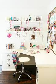 Ikea home office images girl room design Cabinets Pottery Barn Bedford Desk Decorpad Pottery Barn Bedford Desk Contemporary Girls Room Carla Lane