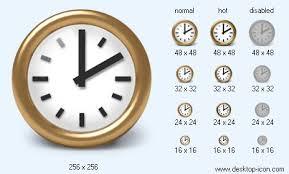 desktop clock icon 302732 free icons