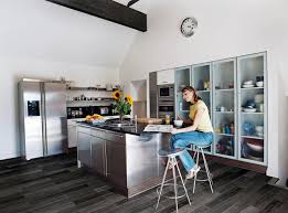 Polished Kitchen Floor Tiles Kitchen Tile Floor Porcelain Stoneware Polished Habitat