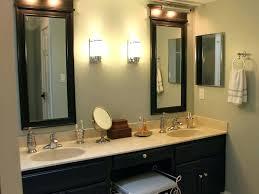 double vanity lighting. Master Bath Vanity Lighting Ideas Nice Bathroom Double Home .