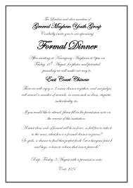 Business Invitation Card Format Official Invitation Card Format Magdalene Project Org