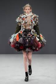 Recycled Designer Apparel Viktor Rolf Couture Garments Made From Recycled Fabrics