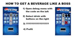 How To Hack A Vending Machine Code