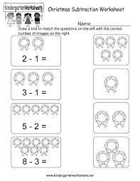 Math Worksheets Simple Subtraction Worksheet Printable For ...