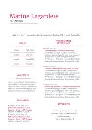 Excellent Resume Template Good Resume Template Intuitive Resume Mycvfactory