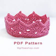Crochet Crown Pattern Interesting Crochet Crown Pattern Princess Crown Princess Tiara Prince