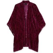 <b>Anna Sui Fairy</b> Fields devoré-chiffon kimono ($485) liked on ...