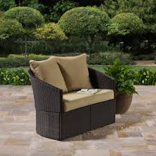 Small Picture Better Homes and Gardens Cascade Falls Curved Loveseat Brown