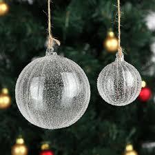 Decorating Christmas Tree With Balls Free Shipping Handmade Christmas Tree Glass Ball Pendant Christmas 90