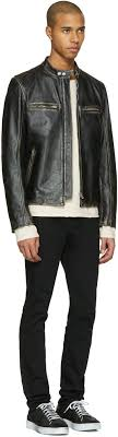 belstaff black leather landrake 2 0 biker jacket men belstaff jackets hot