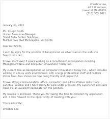 Administrative Cover Letter Template – Andaleco