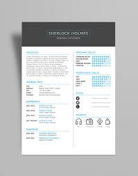 Free Multipurpose Resume Cv Design Template Psd File Good