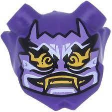 LEGO Ninjago Figures, Headpiece Mask Oni Mask of Hatred (Dark Purple):  Amazon.de: Spielzeug