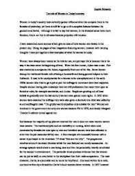 the role of women in today s society gcse sociology marked by page 1 zoom in