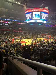Staples Center Section Pr8 Home Of Los Angeles Kings Los