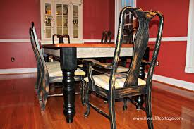 distressed black dining room table. Distressed Black Dining Chairs 3 Fresh Room Table O