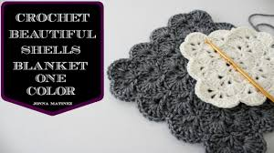 Sea Shell Afghan Crochet Pattern Custom Design Ideas