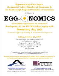Development Breakfast Regional Discussion Egg-o-nomics On Chamber Marlborough Economic Commerce - Of