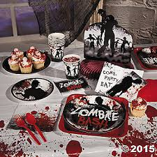 zombie themed halloween supplies party supplies canada open a party Zombie Wedding Decorations *zombie party pack for 16 zombie wedding supplies