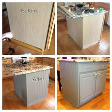 Kitchen Island Beadboard Kitchen Island Diy Project Bead Board Paint And Trim Purchased