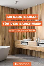 Fussboden design · darmstädter str. Die Richtige Beleuchtung Fur Dein Bad Aufbaustrahler Led Aufbaustrahler Strahler
