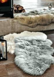 white faux fur rug authentic white fur rug faux area dark brown flooring round white faux fur rug