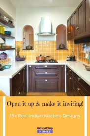 Indian Semi Open Kitchen Designs 15 Indian Kitchen Design Images From Real Homes Kitchen