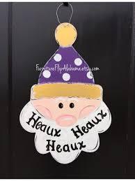 com olga212patrick snowman door hanger winter door hanger lsu door hanger door decor wreath home kitchen